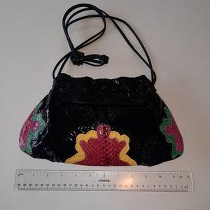 Sm vtg Clemente leather bag